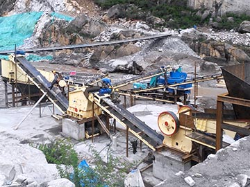 700t/h Pebble Crushing Plant