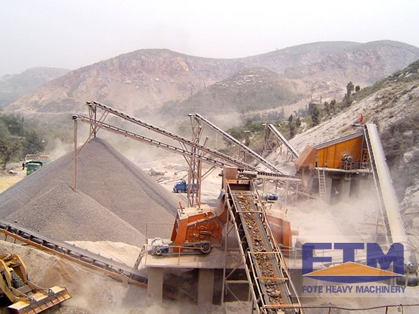 Impact Crusher in Production Line